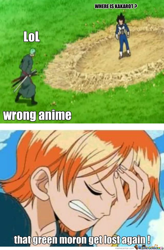 One Piece Trivia: Kumpulan Meme Roronoa Zoro Tersesat\/ Nyasar  Blog Update Terkini One Piece