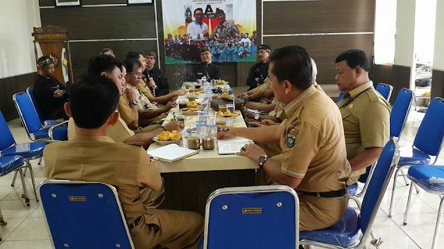 Lurah Kabupaten Bungo Jambi Kunjungi Kelurahan Rancanumpang
