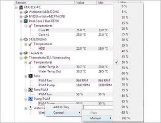 برنامج, معرفة, اداء, قطع, الكمبيوتر, HWMonitor, اخر, اصدار
