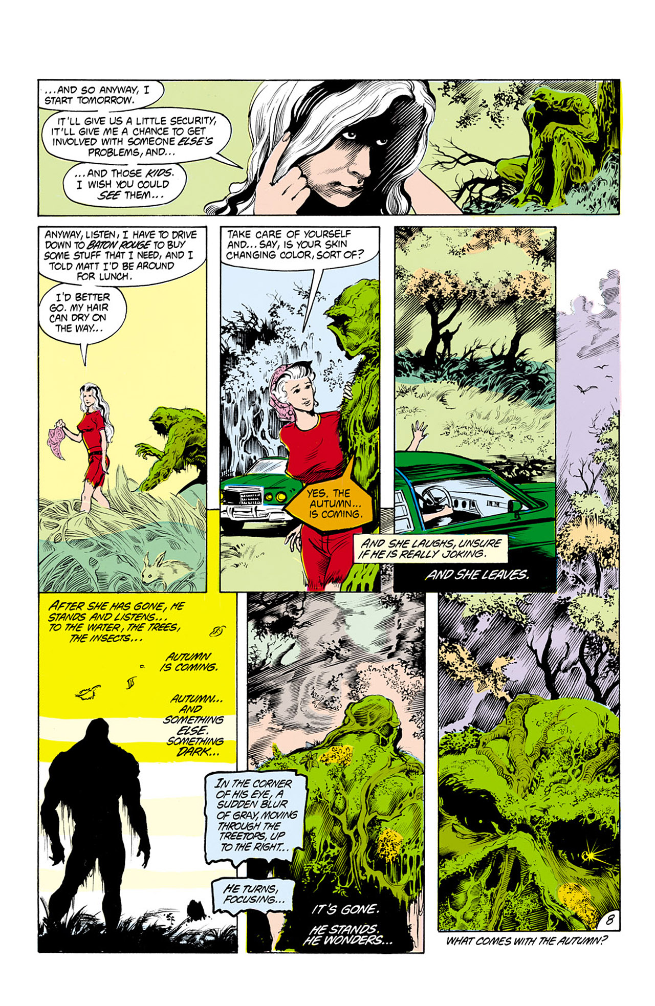 Swamp Thing (1982) Issue #25 #33 - English 9