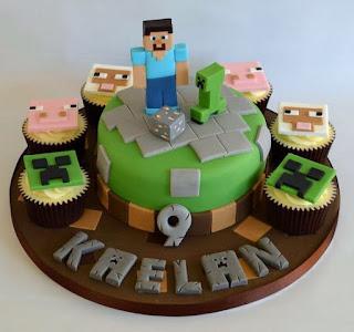 Tortas Minecraft