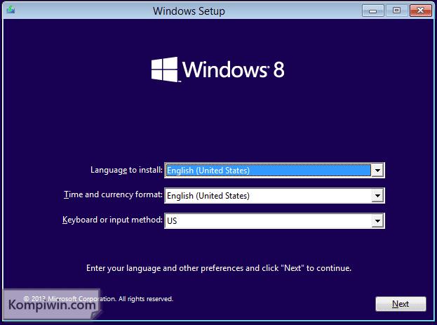 Cara Instal dan Instal Ulang Windows 10, 7, 8, 8.1 lewat Flashdisk/DVD + Video Tutorial 2
