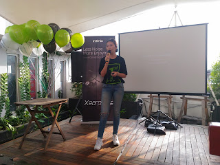 Marcia Sun, Country Manager Infinix Mobilty Indonesia