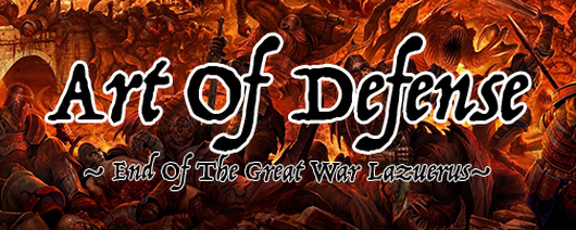 Art Of Defense (AOD) PRE #1 End Of The Great War Lazuerus.