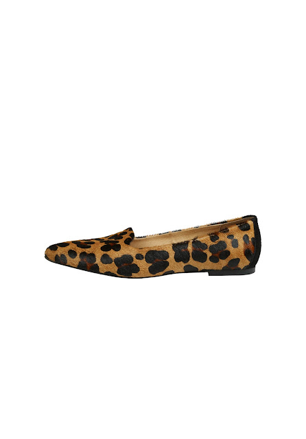 Hush flat leopard shoes