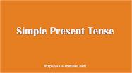 Contoh dan Pengertian Simple Present Tense