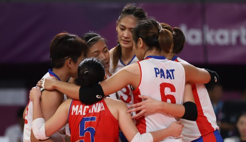 LIVE STREAM: Philippines vs China women's volleyball Asian Games 2018