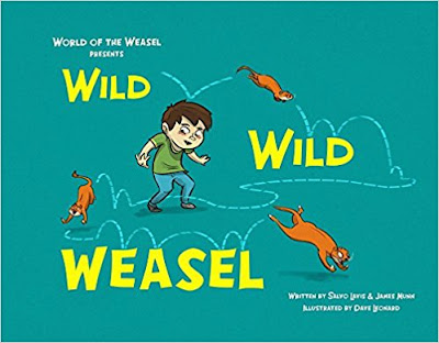 Bea's Book Nook, Review, Wild Wild Weasel, Salvo Lavis, James Munn, Dave Leonard