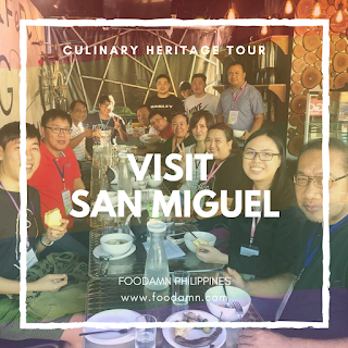 A Travel Food Guide: What to eat in San Miguel Bulacan. A food trip discovery with BJ Snack House, Adam's Pizza, Samara's Buko Pie, Rasta Taco, Goyena's Chicharon, Thumbs Up, Amazing Glaze Doughnuts, Grabites, Cristy's Pastillas, Milktea Network, Sweet Bulakenya, and Arki's Grill thru #VisitSanMiguel
