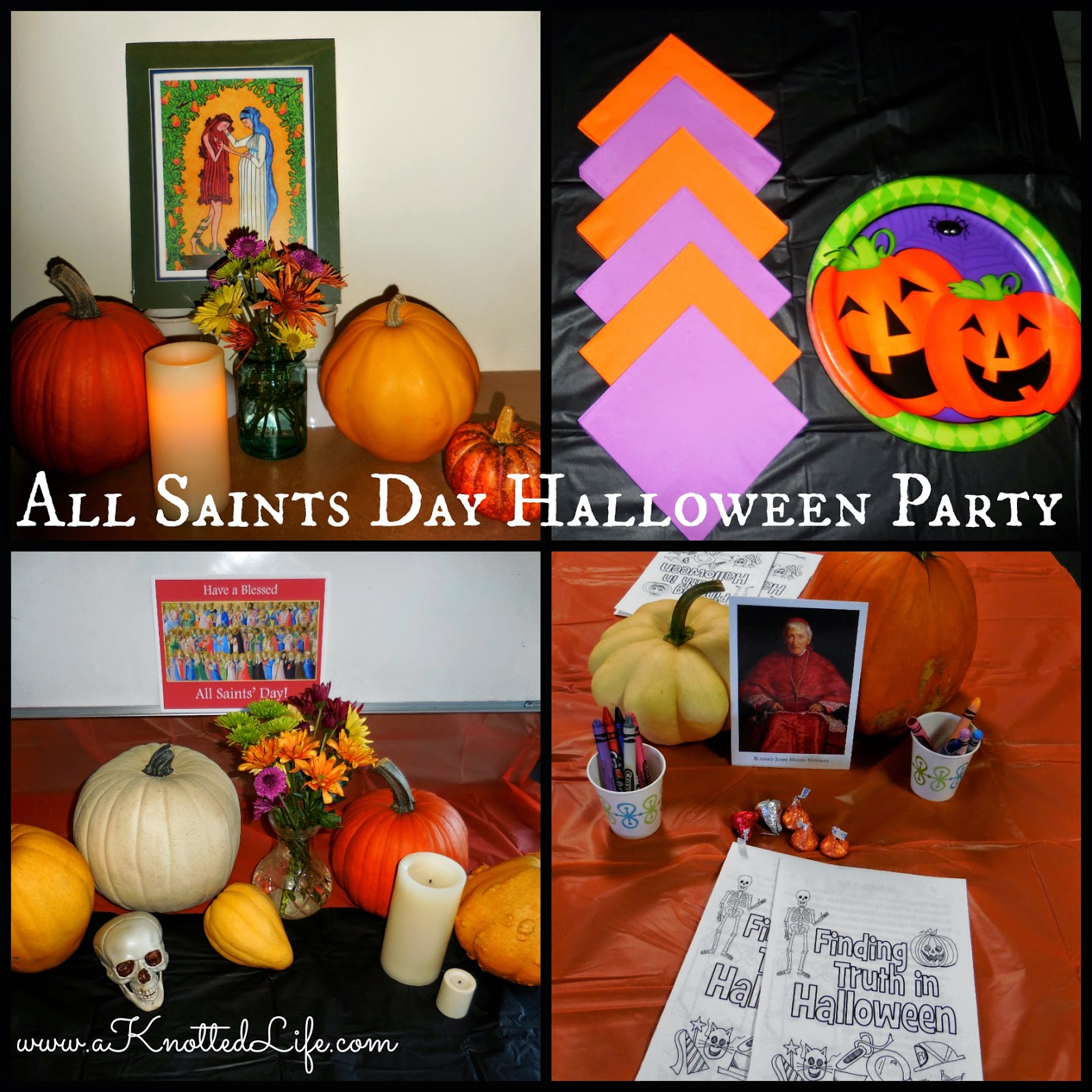 A Knotted Life: All Saints' Day Party ReCap