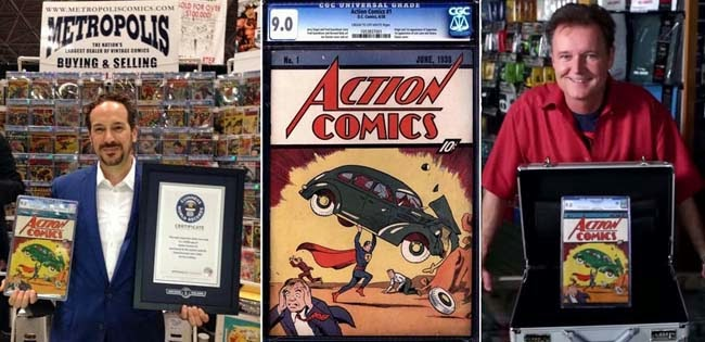 Meet the Most Expensive Comic Book 'Superman' Confirmed by the Guinness World Records