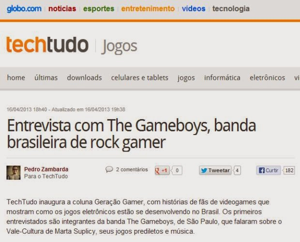 6de3551d0 Pedro Zambarda - Portifolio Online  Projeto Coluna Geração Gamer