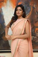 Eesha Rebba in beautiful peach saree at Darshakudu pre release ~  Exclusive Celebrities Galleries 019.JPG