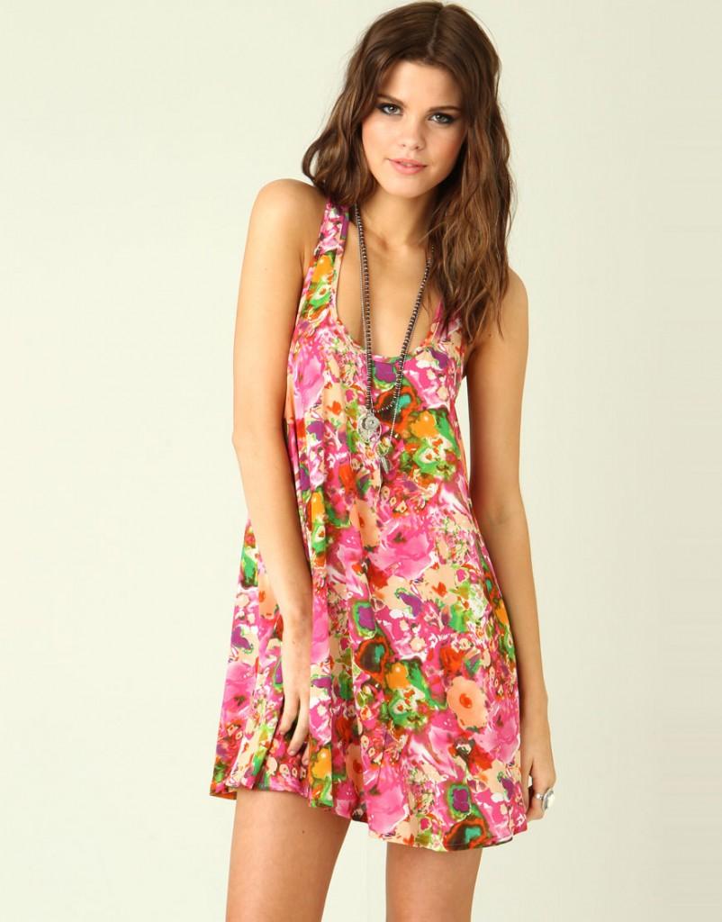 Best Summer Street Style: Floral Summer Dresses
