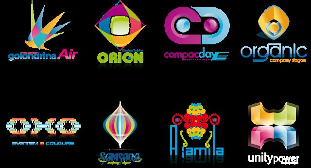 تنزيل المجموعه الثانيه من الشعارات الفيكتور الجاهزه , AI vector logo design templates package ,