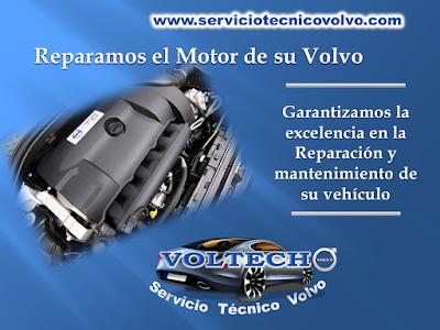 Reparacon de Motor Volvo en Voltech Bogota