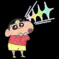 Pastel Crayon Shinchan