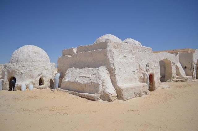 deserto do Sahara na Tunísia e o filme Star Wars