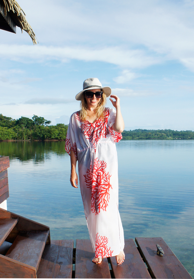 Talbots swim cover up