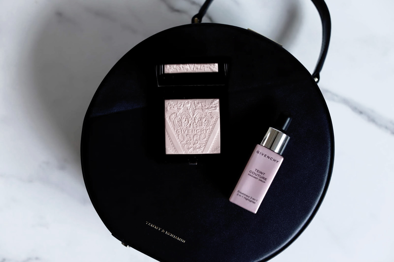 givenchy teint couture radiant drop shimmer powder avis test swatch