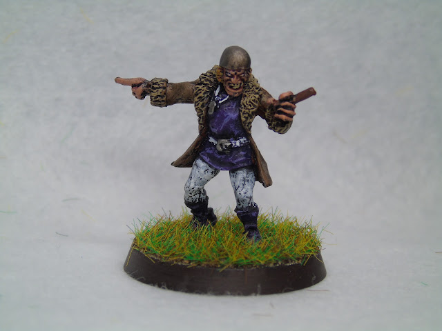 human bloodbowl coach blood bowl heresy miniatures purple