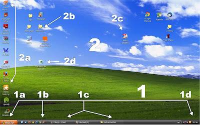 Resultado de imagem para Componentes do Sistema   windows XP