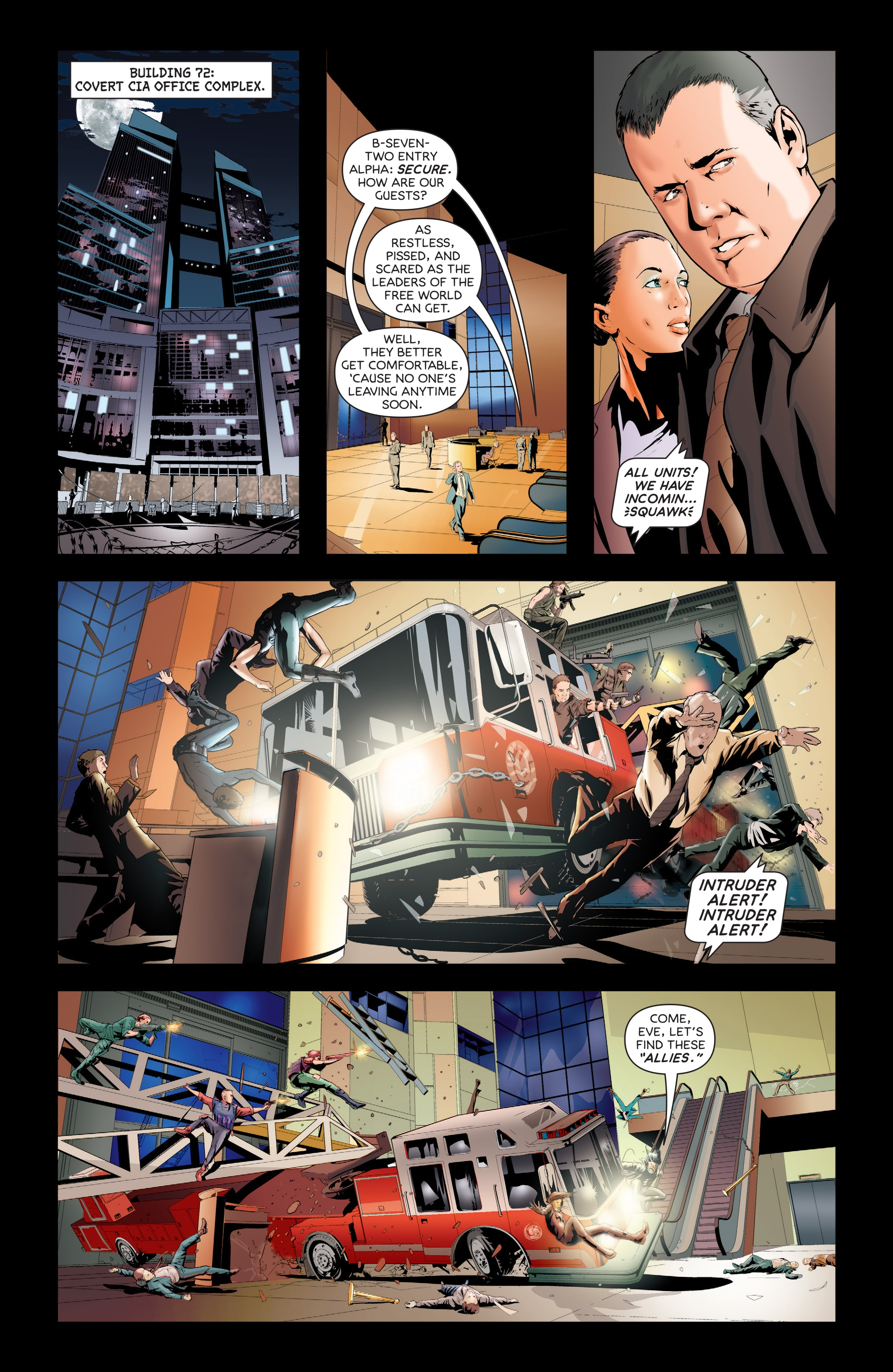 Read online Failsafe comic -  Issue #3 - 14