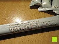 Anleitung auf Tüte: Coffeepolitan Premium Geschenkset - Kaffee aus 5 Kontinenten mit Zubereitungsset - grob gemahlen 5 x 9 Portionen (5 x 9 x 7g); ideal auch als Geburtstagsgeschenk oder Probierset