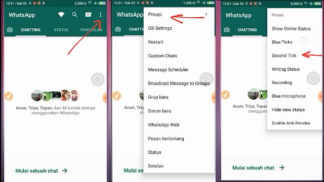 Cara Buat WhatsApp Centang Satu Walau Sudah Dibaca