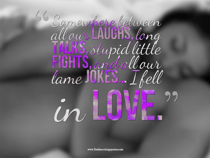 Sweet love morning quotes