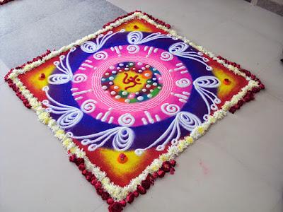 Gudi Padwa Rangoli Design Free