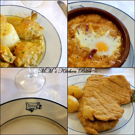 Meal Botin restaurant Madrid mmskitchenbites