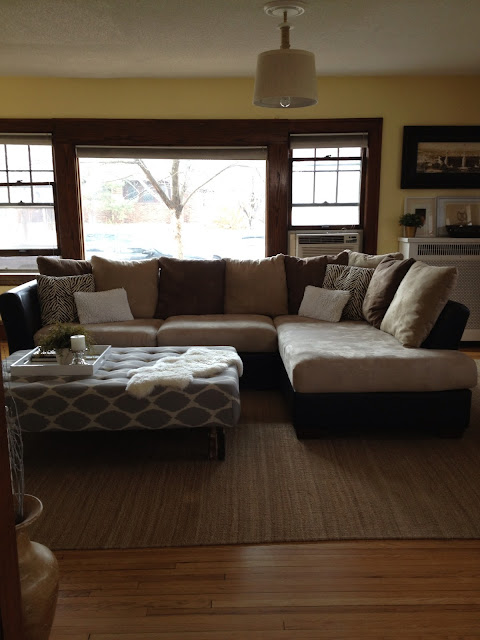 Inside Out Design How To Re Cover Couch Cushions