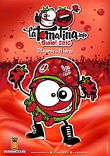 "Cartel anunciador de la ""Tomatina de Buñol 2016"""