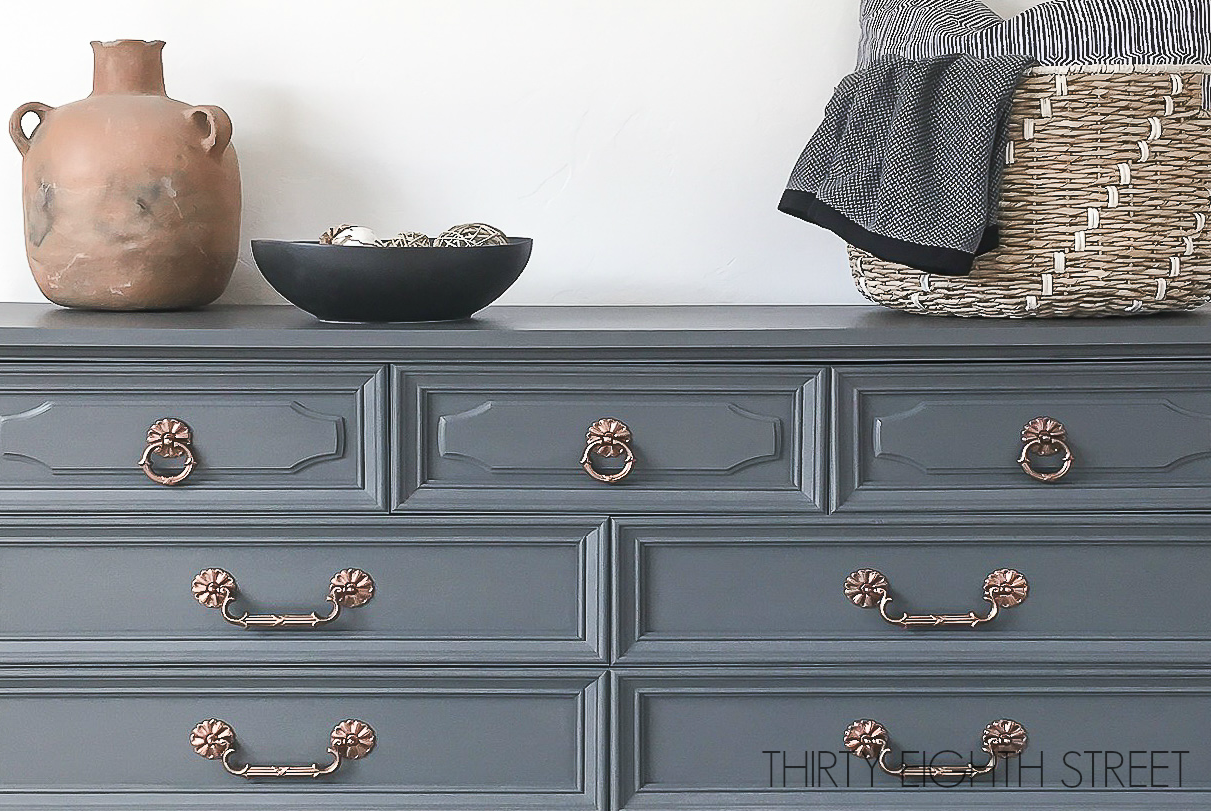 How To Paint A Dresser Painting Furniture Painted