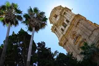 Downtown Malaga's Cathedral is impressive