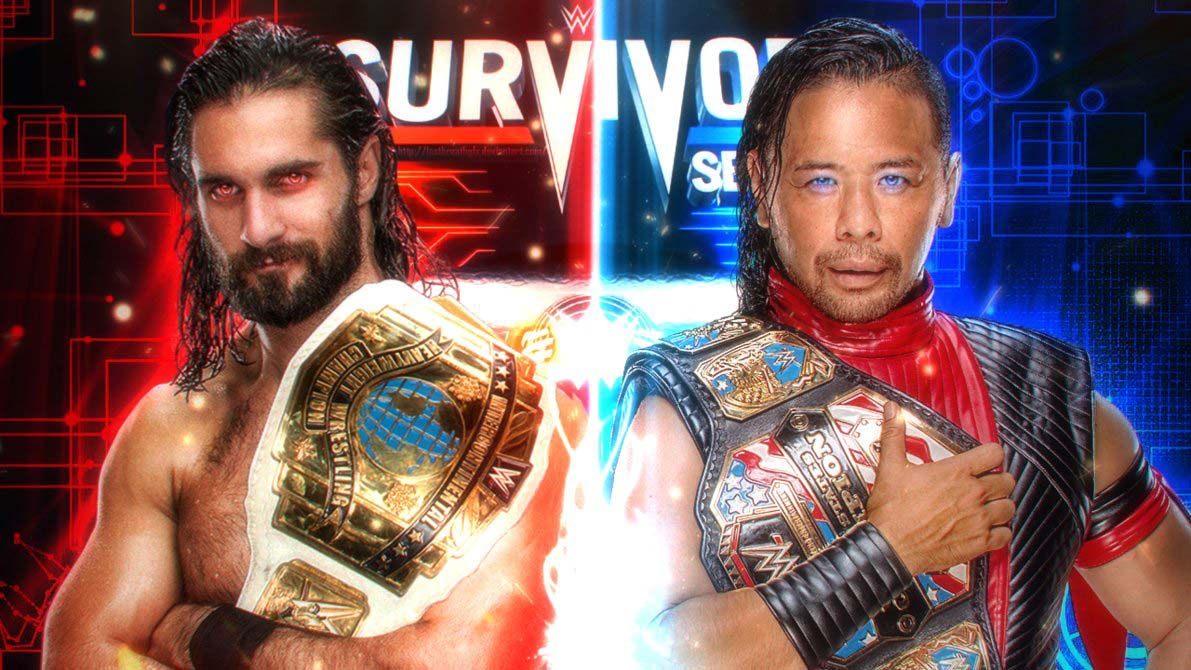 Seth Rollins VS Shinsuke Nakamura - tagrba.com