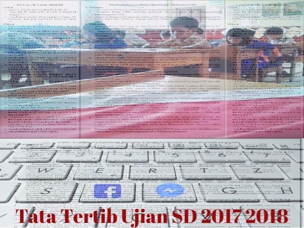 Tata Tertib Ujian SD 2017 2018