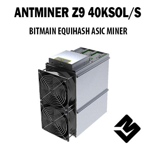 Bitmain - Novo Antminer Z9 Disponível em Setembro 2018! (Equihash)