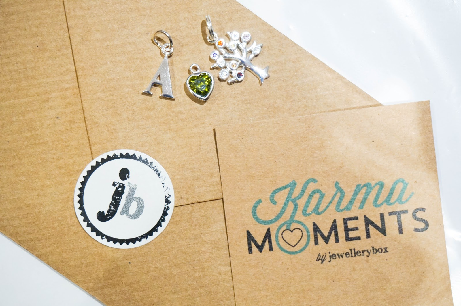 Karma Moments with Jewellery Box UK