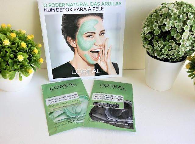 Máscaras De Argilas Puras L'oréal