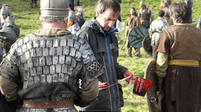 Serie Vikingos detrás de las cámaras