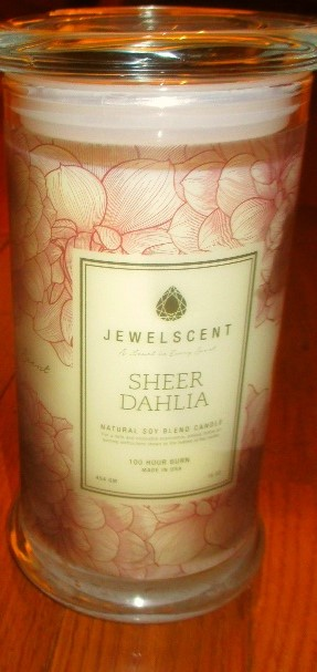 jewel scent candle