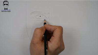 كيفية رسم بورتريه