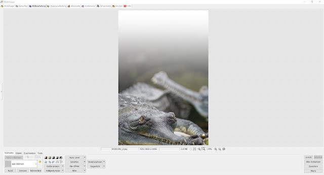 Photoscape Anleitung Bilder übereinanderlegen 1 Bild öffnen