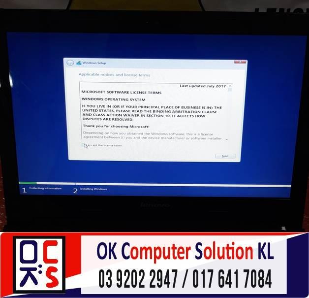 [SOLVED] FORMAT & INSTALL SSD LENOVO G40-45 | REPAIR LAPTOP CHERAS 4