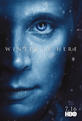 "Game of Thrones Season 7 ""Winter Is Here"" Teaser Character Television Poster Set"