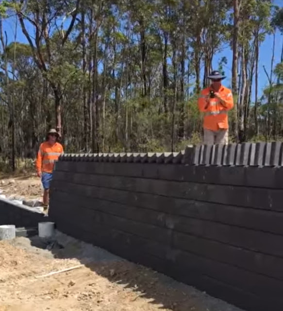 austrália tijolo muro construção magia