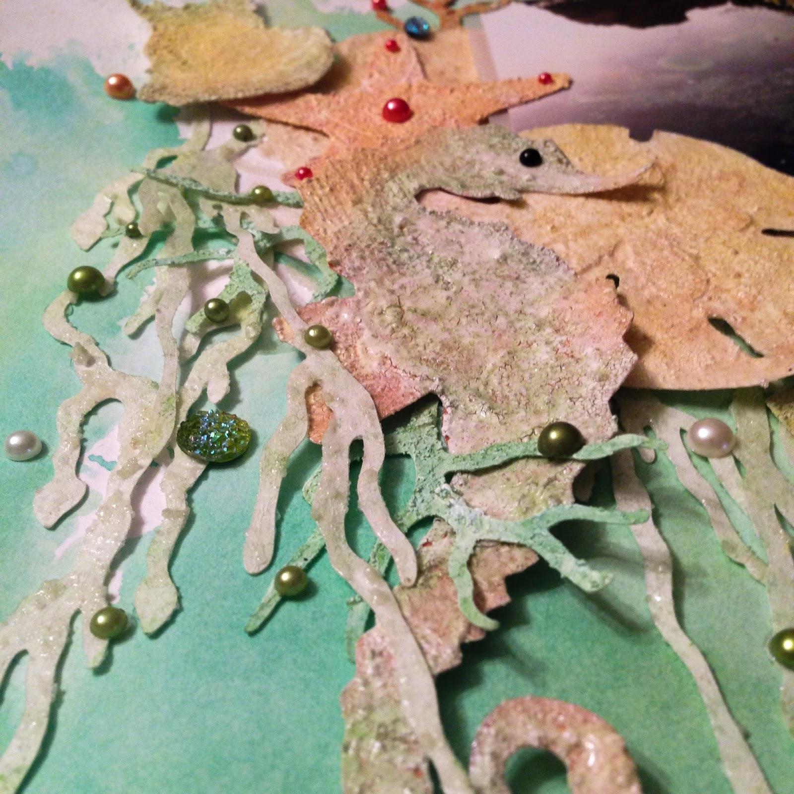 detail of seaweed